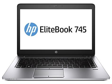 HP EliteBook 745 G2 A10-7350B 14 FHD AG 8GB 256SSD FPR LL WF W8.1P downgraded