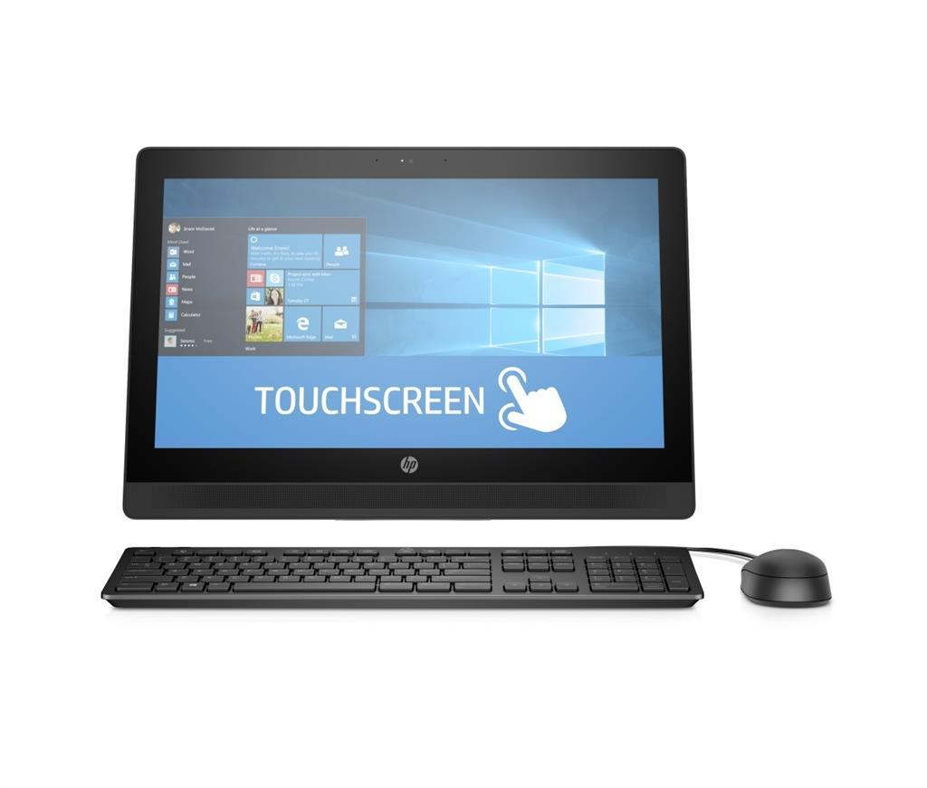 HP AiO ProOne 400 G2 20'' TOUCH i3-6100T 4GB 500GB DVD WLAN+BT MCR W10P