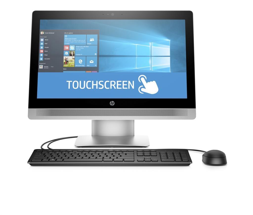 HP AiO ProOne 600 G2 21,5'' TOUCH i3-6100 4GB 500GB DVD WLAN+BT MCR W10P