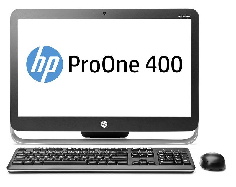 HP AiO ProOne 400 G2 20'' i5-6500T 4GB 128SSD DVD WLAN+BT MCR W7P+W10P