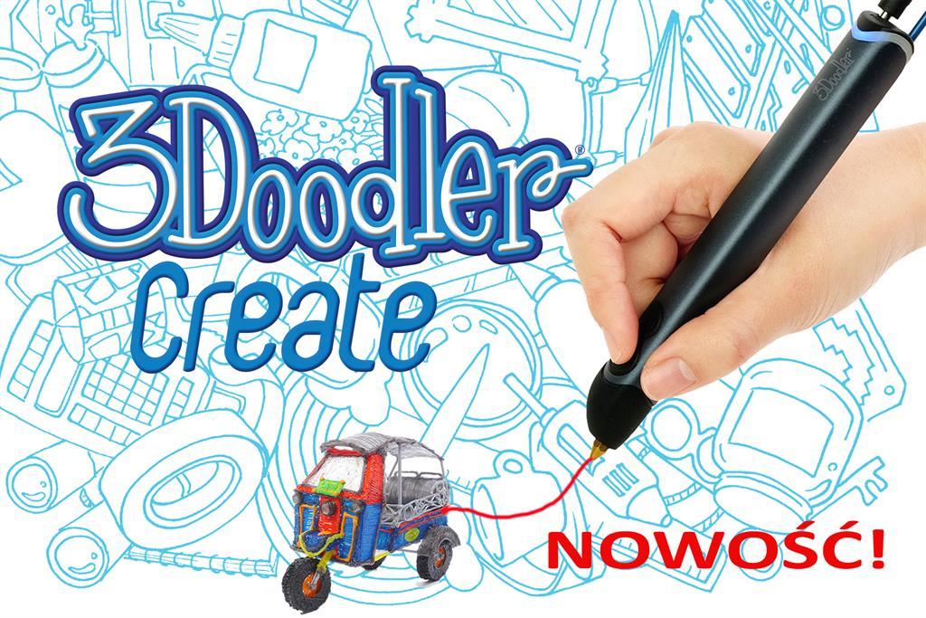 3DOODLER 3Doodler Create - New version of the pen 3Doodler, manual 3D printer