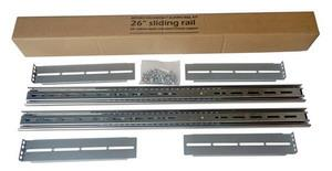 Netrack sliding rail for server case RACK 19'', 25-55 cm depth