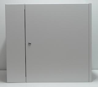 apra-optinet Závěsný rack ecoVARI PLUS 19'' 9U/600mm, dvojdílna, skleněné dveře