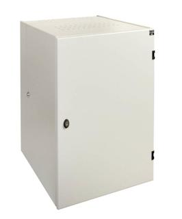 apra-optinet Závěsný rack ecoVARI PLUS 19'' 15U/600mm, dvojdílna, plechové dveře