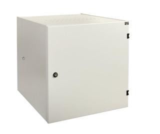 apra-optinet Závěsný rack ecoVARI PLUS 19'' 9U/600mm, dvojdílna, plechové dveře