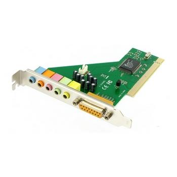 4World Zvuková karta C-Media CMI8738, 6-kanál, s PCI rozhraním