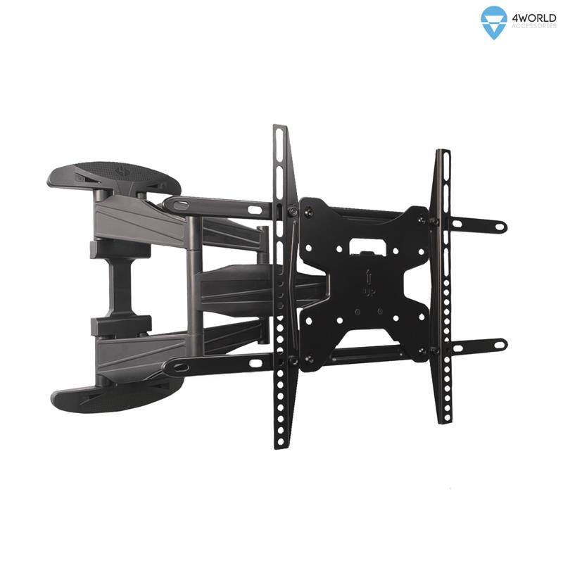 4World Otočný a sklopný držák pro LCD 42-64'' nosnost max. 60kg BLK