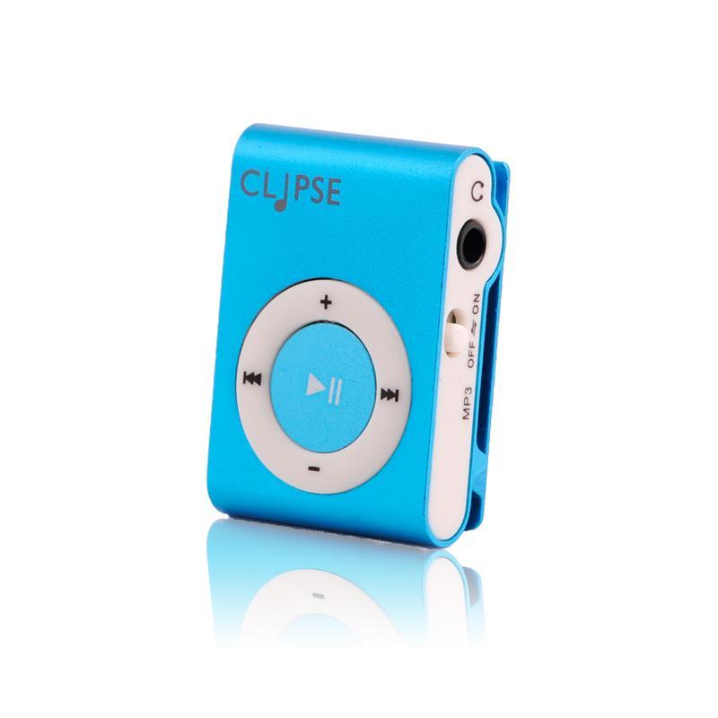 4World Mp3 přehrávač, modrý
