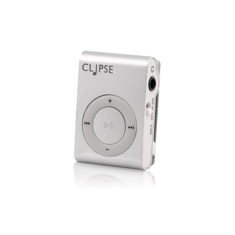 4World Mp3 přehrávač ''CLIPSE'', stříbrný