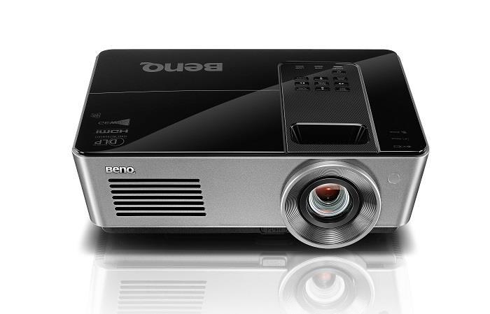 Projektor BenQ SW916; DLP; WXGA (1280x800); 5000 ANSI; 7500:1; HDMI; RJ45