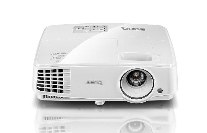 Projector BenQ MS524, DLP, SVGA, 3200 ANSI lumens, 13000:1
