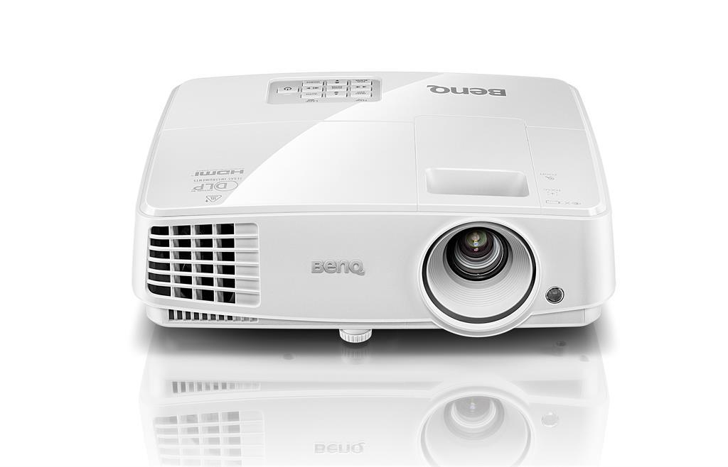 Projector BenQ MS527, DLP, SVGA, 3300 ANSI lumens, 13000:1 3D