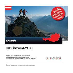 Garmin TOPO Austria v4 PRO | DVD + microSD