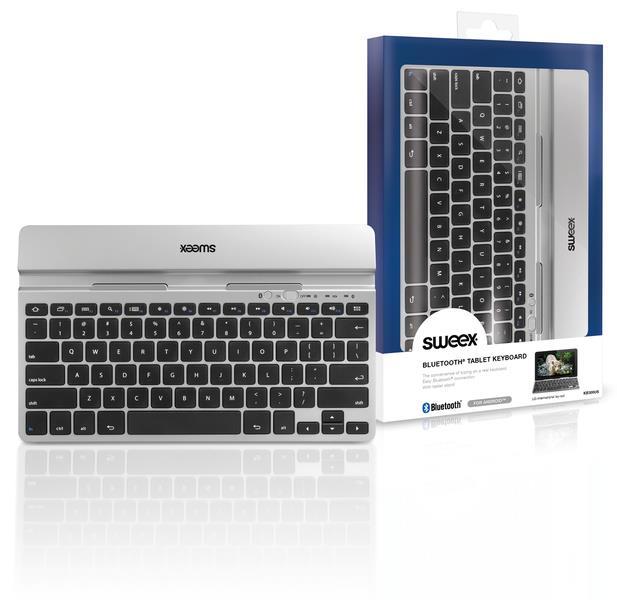 Sweex Bluetooth klávesnice pro tablet, US layout