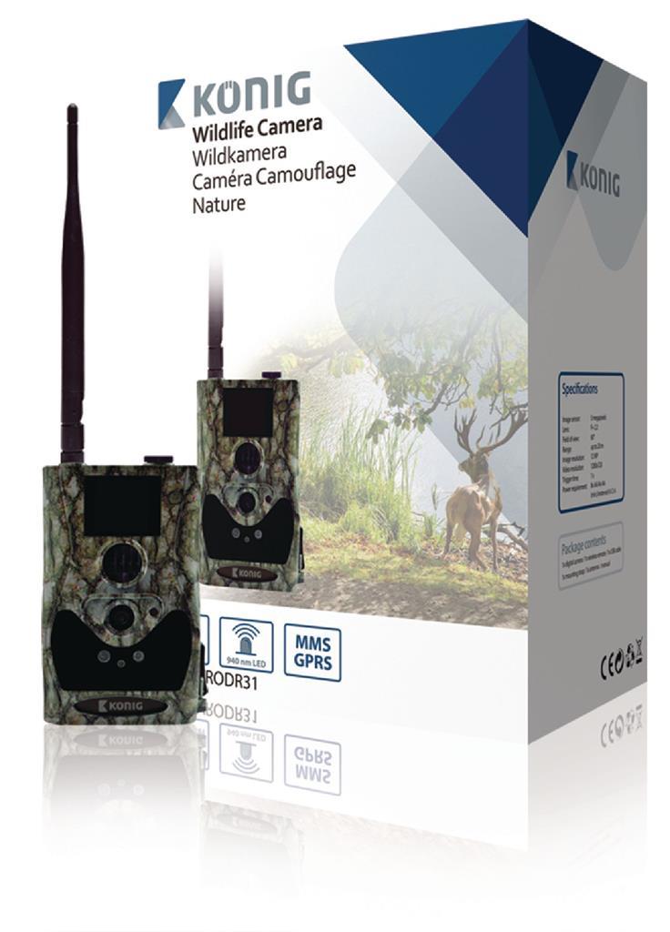 König pozorovací kamera s funkcí GPRS / MMS