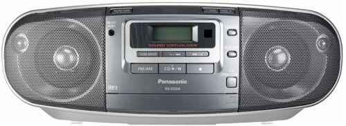 RX-D50AEG-S RADIOMAGNETOFON PANASONIC - CZ DISTRIBUCE