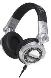 DJ sluchátka Panasonic RP-DH1200E-S, stříbrná - CZ distribuce