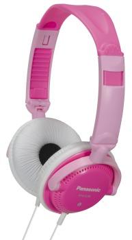 DJ sluchátka Panasonic RP-DJS200E-P, růžová - CZ distribuce