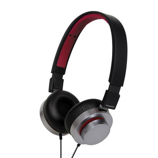 Lehká sluchátka Panasonic RP-HXD5WE-K, černá - CZ distribuce