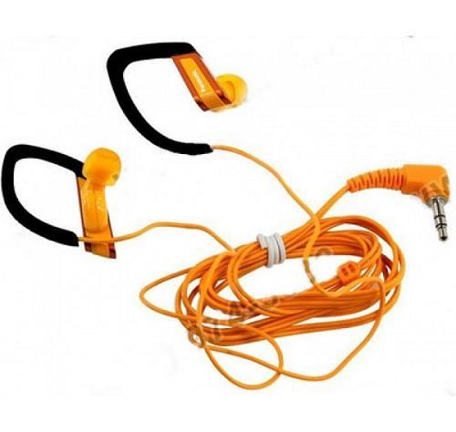 Sportovní sluchátka Panasonic RP-HS200E-D, oranžová - CZ distribuce