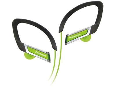 Sportovní sluchátka Panasonic RP-HS200E-G, zelená - CZ distribuce