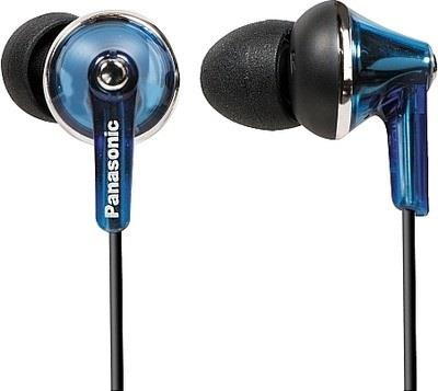 Sluchátka Panasonic RP-HJE190E-A, modrá - CZ distribuce