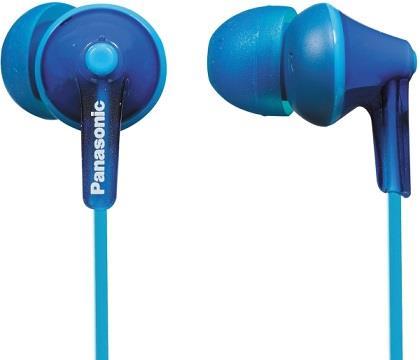Sluchátka Panasonic RP-HJE125E-A, modrá - CZ distribuce
