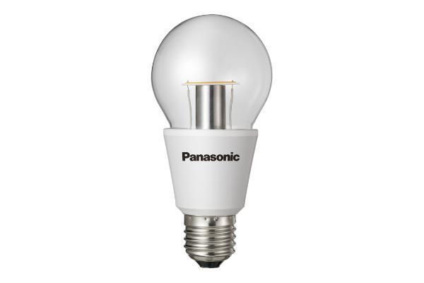 Panasonic LED žárovka E27, 6.4W=40W, 2700K, 470lm, 25 000 hodin