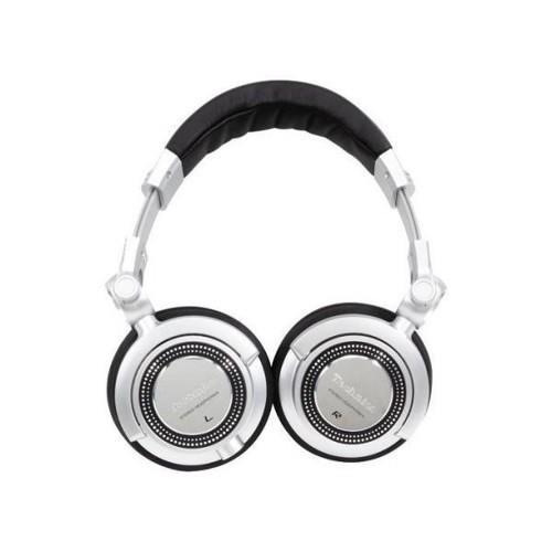 DJ sluchátka Panasonic RP-DJ1215E-S, stříbrná - CZ distribuce
