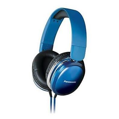 Sluchátka Panasonic RP-HX350E-A, modrá - CZ distribuce