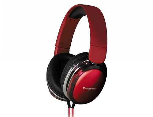 Sluchátka Panasonic RP-HX350E-R, červená - CZ distribuce