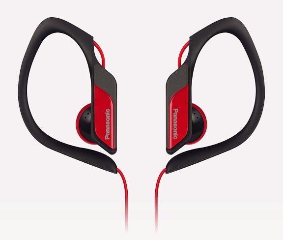 Sluchátka Panasonic RP-HS34E-R, červená - CZ distribuce
