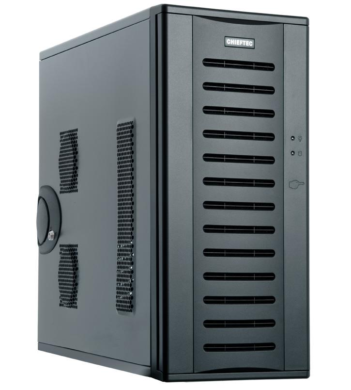 Chieftec PC skříň Bravo BH-01B-U3, EATX, zdroj 450W (CTG-450)