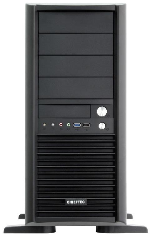 Chieftec PC skříň SMART CH-09B-U3, EATX, zdroj 450W (CTG-450)