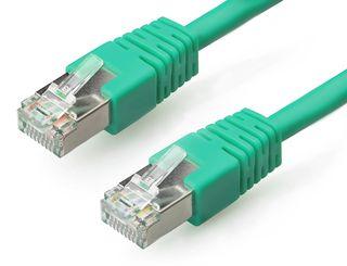 Gembird Patch kabel RJ45 , cat. 6, FTP, 1m, zelený