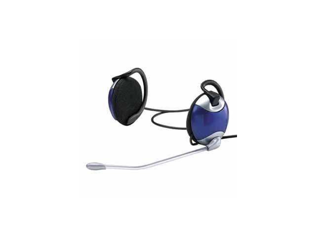 Gembird stereo sluchátka CLIP ON, 3.5MM jack + mikrofon