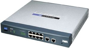 Cisco RV082 8-port 10/100 VPN Router - Dual WAN