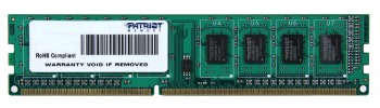 Patriot 4GB 1333MHz DDR3 CL9 DIMM