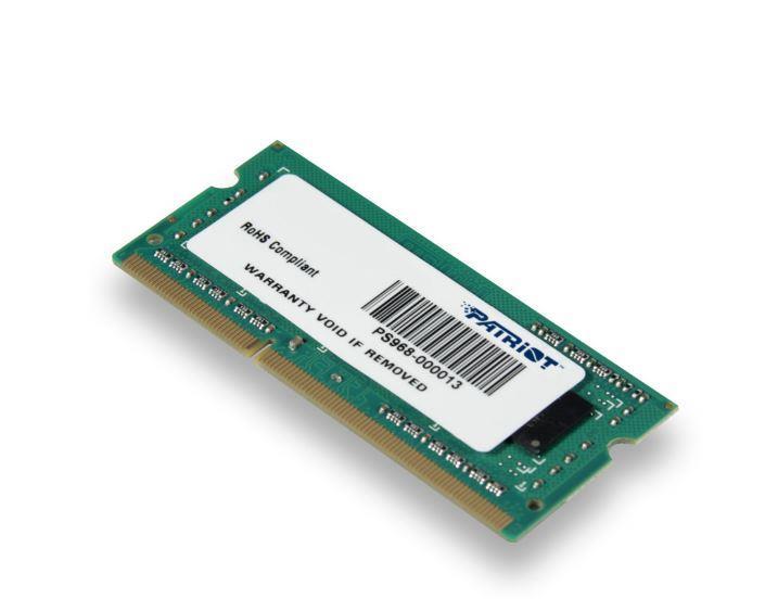 Patriot 4GB Signature Line 1333MHz DDR3 CL9 SODIMM