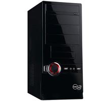 PC skříň Take Me FUNKY Simple, ATX midi tower, zdroj 450W, černá