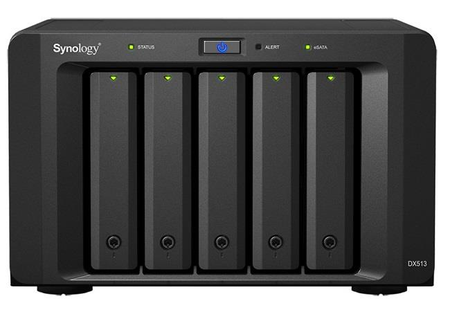 Synology DX513 expansion server w/o HDD
