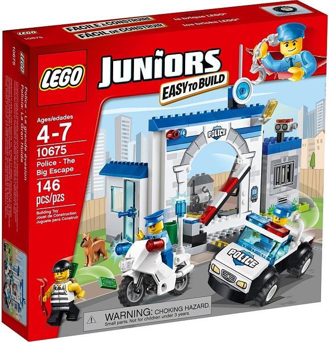 LEGO Juniors Police Station - The Big Escape 10675