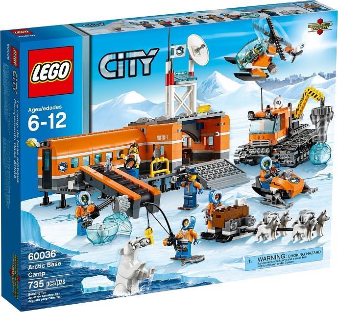 LEGO City 60036 Arctic Base Camp