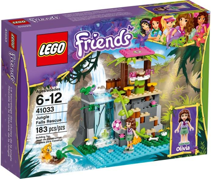 LEGO Friends Jungle Falls Rescue 41033