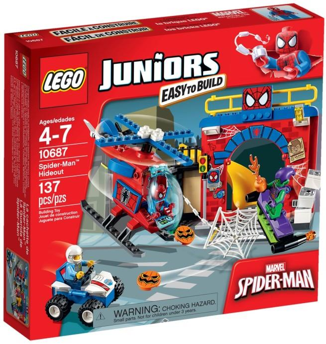LEGO Spider-Man Hideout Instructions 10687