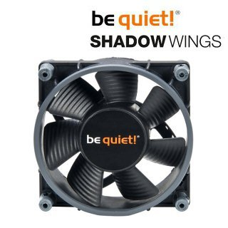 Ventilátor be quiet! Shadow Wings SW1 80mm Low-Speed 80x80x25 1400rpm 8,4dB