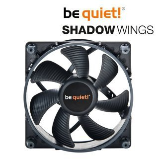 Ventilátor be quiet! Shadow Wings SW1 120mm Low-Speed 120x120x25 800rpm 9,8dB