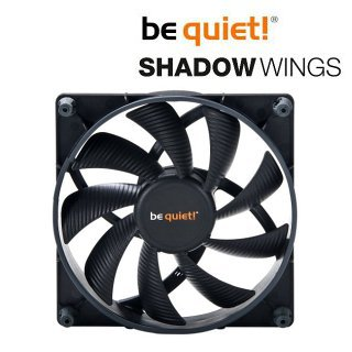 Ventilátor be quiet! Shadow Wings SW1 140mm Mid-Speed 140x140x25 1000rpm 17,4dB