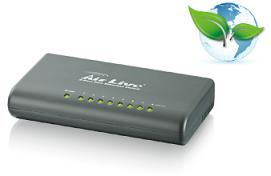 AirLive 8-port Fast Ethernet Switch, Green Switch