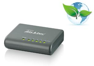 AirLive 5-port Fast Ethernet Switch , Green Switch